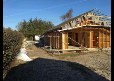 bygning af hus